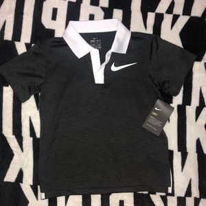 Nike collared shirt.